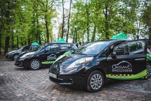 такси электромобиль в Киеве